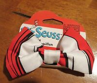 Elope Dr. Seuss Cat In The Hat Striped Bow Tie