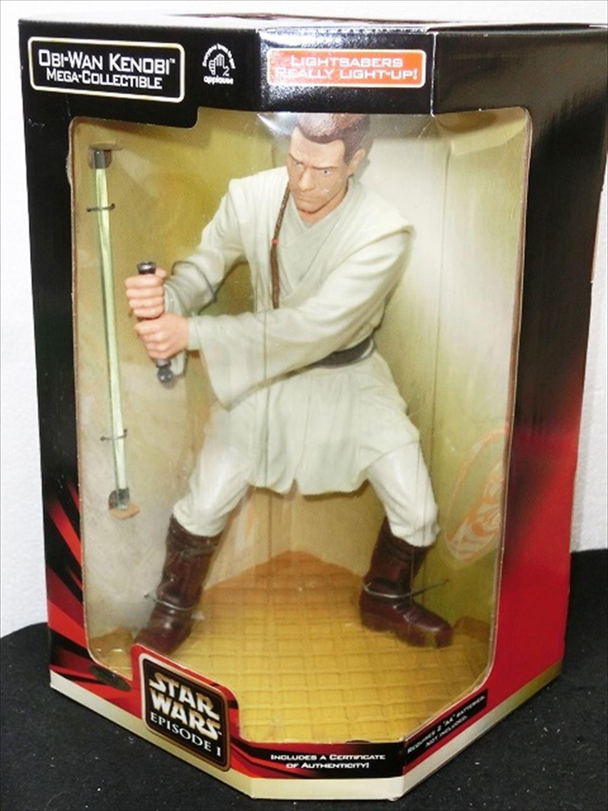 ventas al por mayor Estrella Wars episodio 1 1 1 Mega Coleccionable Obi-Wan Kenobi de Japón F S  tiendas minoristas
