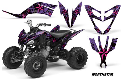 ATV Decal Graphic Kit Quad Sticker Wrap For Yamaha Raptor 250 2008-2014 NSTAR P