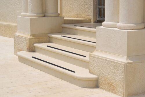 gommé Hell-Moyen Gris 5 cm bois escaliers Anti Anti-rayures divers