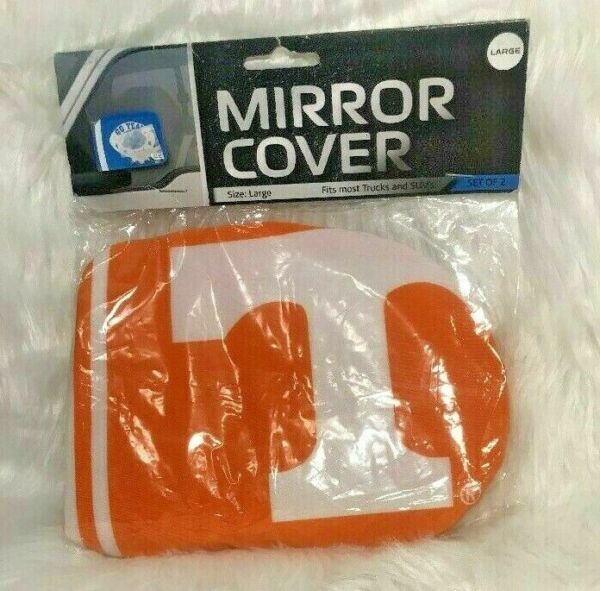 FANMATS  14930  NCAA University of Tennessee Volunteers Polyester Steering Wheel Cover