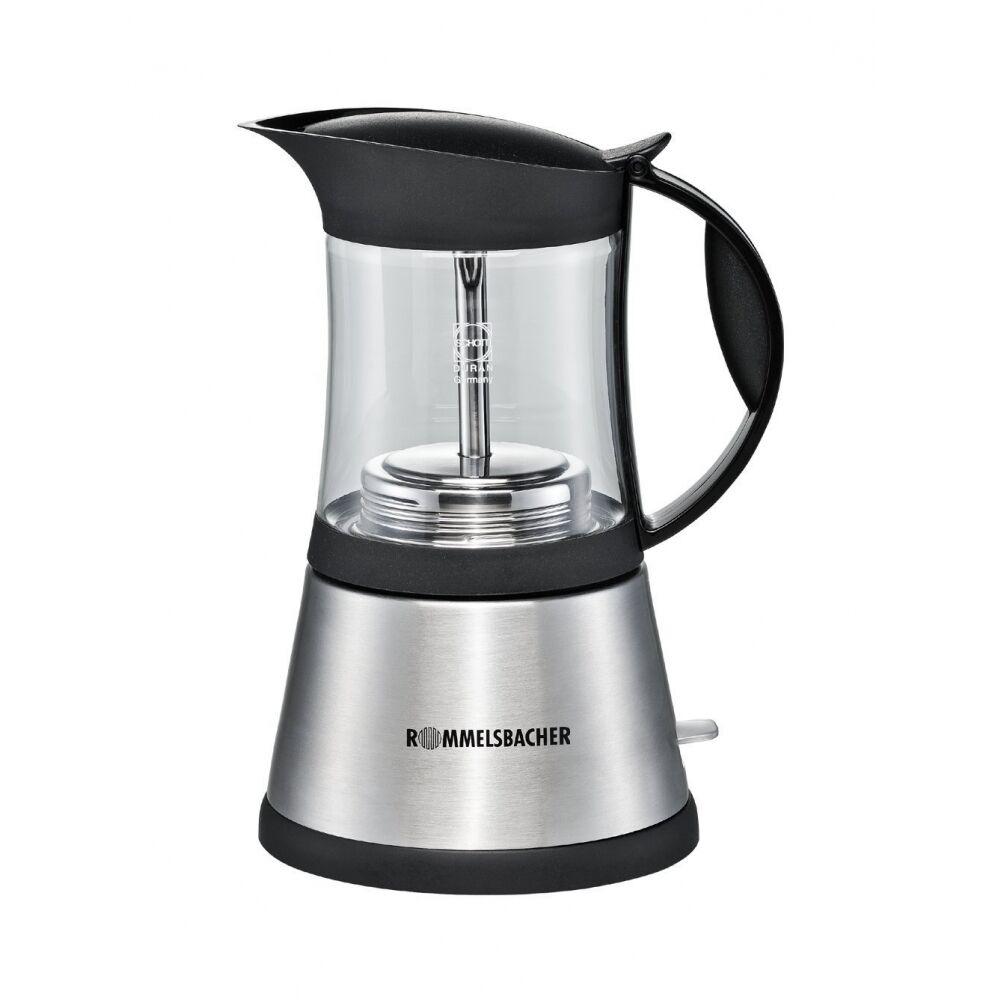 Rommelsbacher EKO 376 g Acier inoxydable-verre Espresso réchaud prougeection contre la surchauffe 365 w