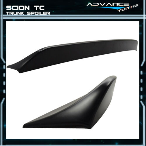 11-16 Scion TC RS Style Trunk Spoiler Unpainted ABS