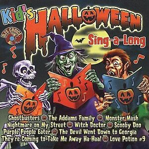 FREE US SHIP. on ANY 3+ CDs! ~Used,Very Good CD The Hit Crew: Kid's Halloween: S