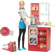 Barbie I Can Be Spaghetti Chef Career Doll  W/ Accessories NIB