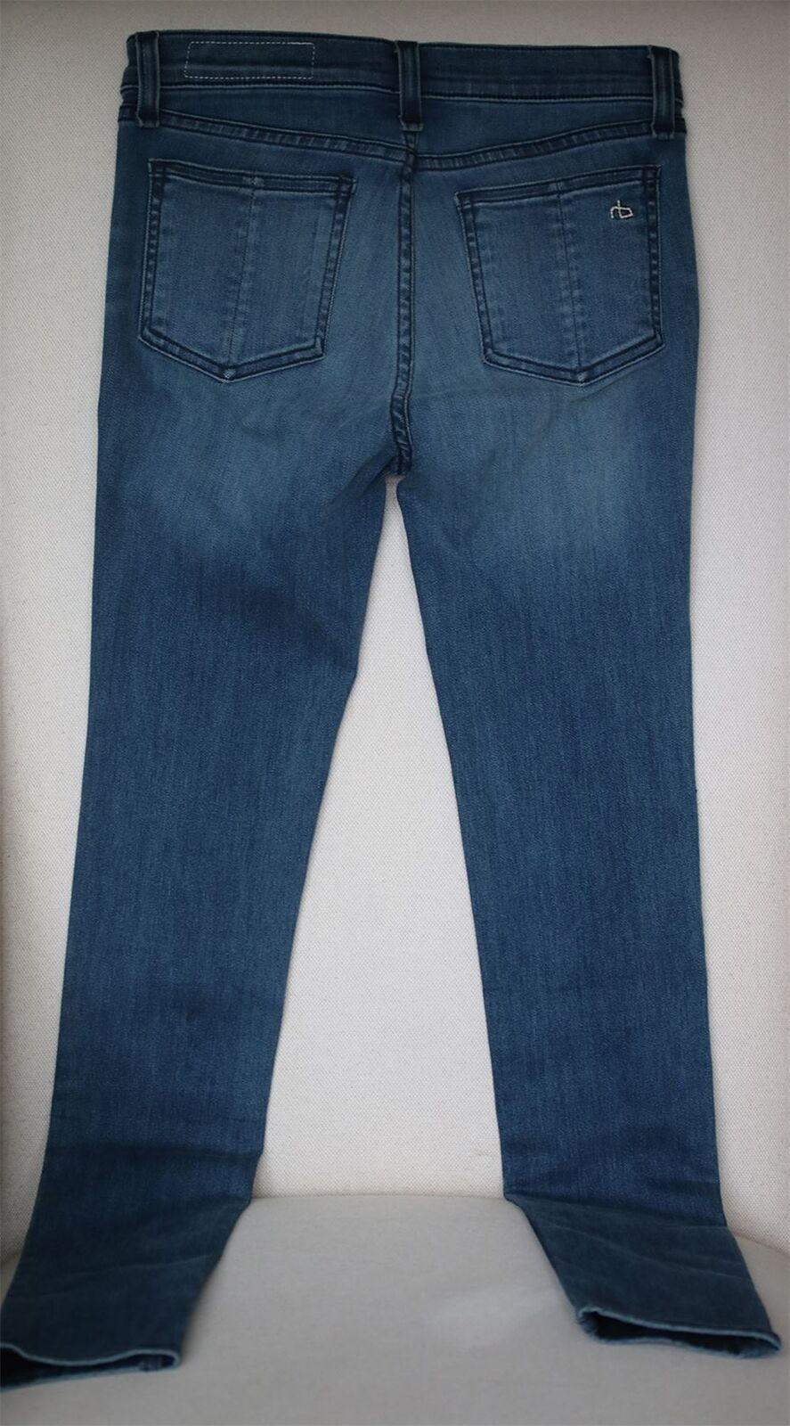 RAG AND High-Rise BONE leggings, jeans Skinny in Clean Clean Clean Euston W25  8 b0774f