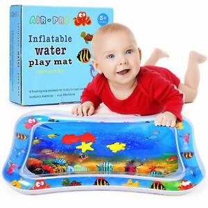Baby Toys Inflatable Tummy Time Water Play Mat For Infants Toddlers Boys Girls