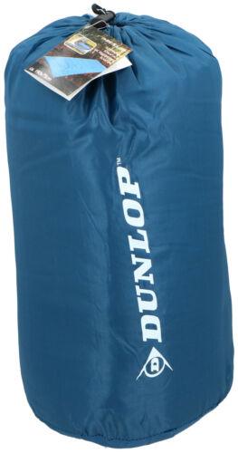 Dunlop Sac de couchage Bleu Outdoor Plafond Sac De Couchage Camping Voyages Trekking 190x75cm