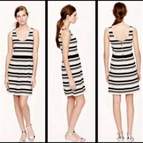 J. Crew Striped Villa Dress Size L