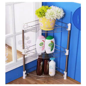 bathroom floor caddy stainless 3 floor bathroom corner shower basket caddy rack 10622