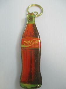 Coca-Cola-Vintage-Plastic-Contour-Bottle-Keychain-Coca-Cola-Classic