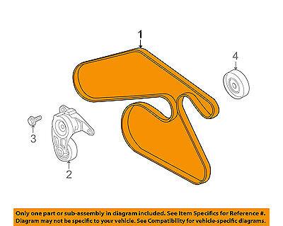 GM OEM-Serpentine Drive Fan Belt 12626076