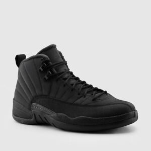 33b7c530d356d7 Nike Air Jordan Retro XII 12 WINTERIZED Black Winter BQ6851-001 Men ...