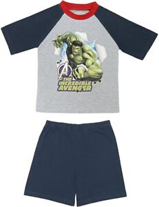 Avengers Incredible Hulk Summer Short Pyjamas. Age 9-10 Years. Brand New