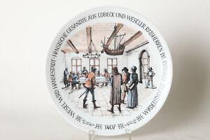 Dekorteller-Collection-Plate-City-Wesel-Hanse-Teller-Ca-9-5-8in-138061
