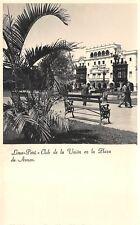 LIMA, PERU, CLUB DE LA UNION EN LA PLAZA DE ARMAS, REAL PHOTO PC c 1930-1940's