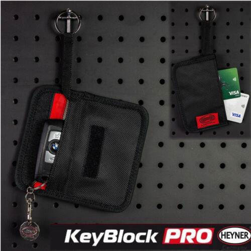 Top Car sin llave FOB bloqueador de señal bolsa caso de bloqueo De RFID Protección contra robo