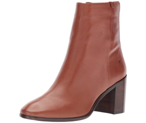 New in Box FRYE Women's Julia Bootie Boot Cognac Soft Nappa Lamb Size 11 $ 348