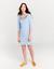 Joules RIVIERA T-SHIRT ricamato abito blu a righe SZ 10 12 14 18 freeuk P /& P