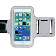 US Stock!Running Jogging Sports Gym Armband Case Holder White For iPhone 6/6S