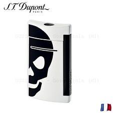 S.T. Dupont Accendino Mini Jet Bianco Nero Juventus Lighter Feuerzeug Briquet