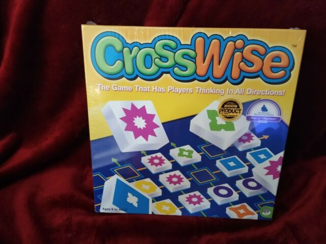 New Crosswise Board game By Mindware