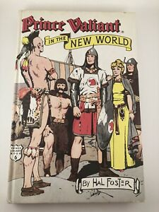 Hal-Foster-Prince-Valiant-In-the-New-World-Hardcover-Printed-USA-1976