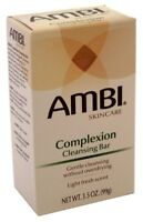 (3 Pack) Ambi Cleansing Bar Soap Complexion 3.5 Ounce