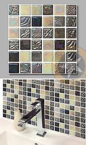 Autocollant Pour Carrelage 4 x autocollants sticker pour carrelage salle de bains cuisine cr010