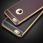 For iPhone 7 7 Plus Luxury Slim Ultra-thin PU Leather Soft Phone Case Cover TPU