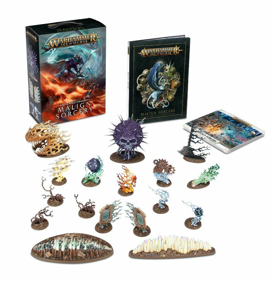 Warhammer fantasy   alter sigmar unheilvolle zauberei nib