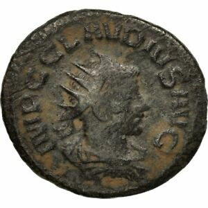gothicus Antioch #651449 269 Bc+ Beneficial To Essential Medulla Antoninianus Claudius Ii Moneda