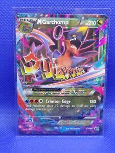 Pokemon XY BLACK STAR PROMO M//MEGA GARCHOMP EX #XY168 HOLO FOIL PSA 9 MINT #*