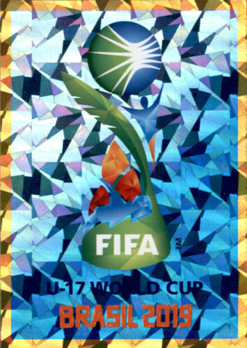 Panini Fifa 365 2020 Sticker 428 FIFA U-17 World Cup Brasil 2019 Emblem