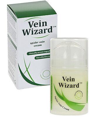 Vein Wizard Spider Vein Healing Cream with Horse Chestnut Extract & Vitamin K
