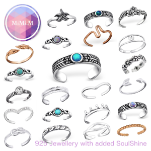 Anillo-del-dedo-del-pie-Midi-anillo-de-apilamiento-de-plata-esterlina-ajustable-anillo-de-nudillo