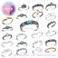 Anillo-del-dedo-del-pie-Midi-anillo-de-apilamiento-de-plata-esterlina-ajustable-anillo-de-nudillo miniatura 1