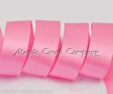 "3yd of Pink 5//8/"" Double Face Satin Ribbon 5//8/"" x 3 yards neatly wound"