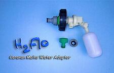 Mains Water Adaptor Valve to fit Caravan Aquaroll, Aqua Caddy, Roly Poly etc