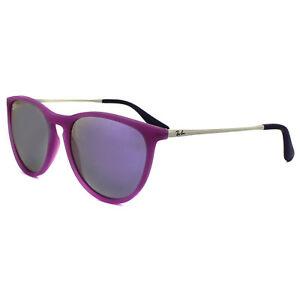 ray ban junior sonnenbrille izzy 9060 70084v gummi violet. Black Bedroom Furniture Sets. Home Design Ideas
