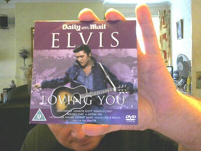 LOVING YOU DVD ELVIS PRESLEY PERFECT BIRTHDAY GIFT! FREE UK POSTAGE!