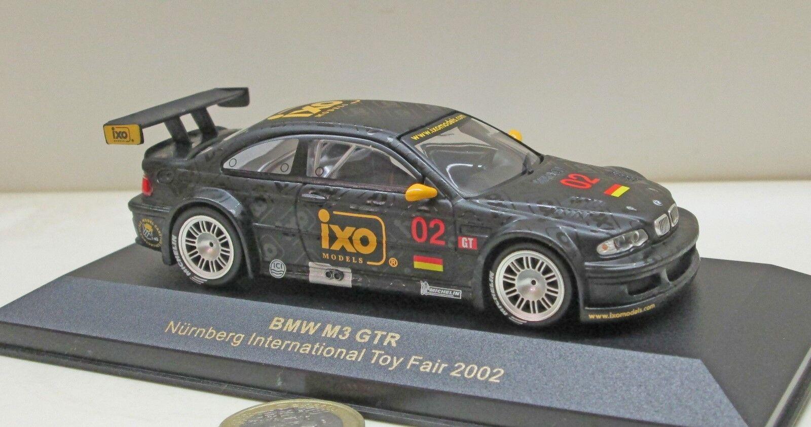 IXO Spécial Modèle; bmw m3 gtr, jouets messe 2002 (427)