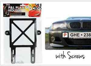 Image is loading P-Plate-Holder-AND-L-Plate-Holder-1-  sc 1 st  eBay & P Plate Holder AND L Plate Holder (1 Pair)   eBay
