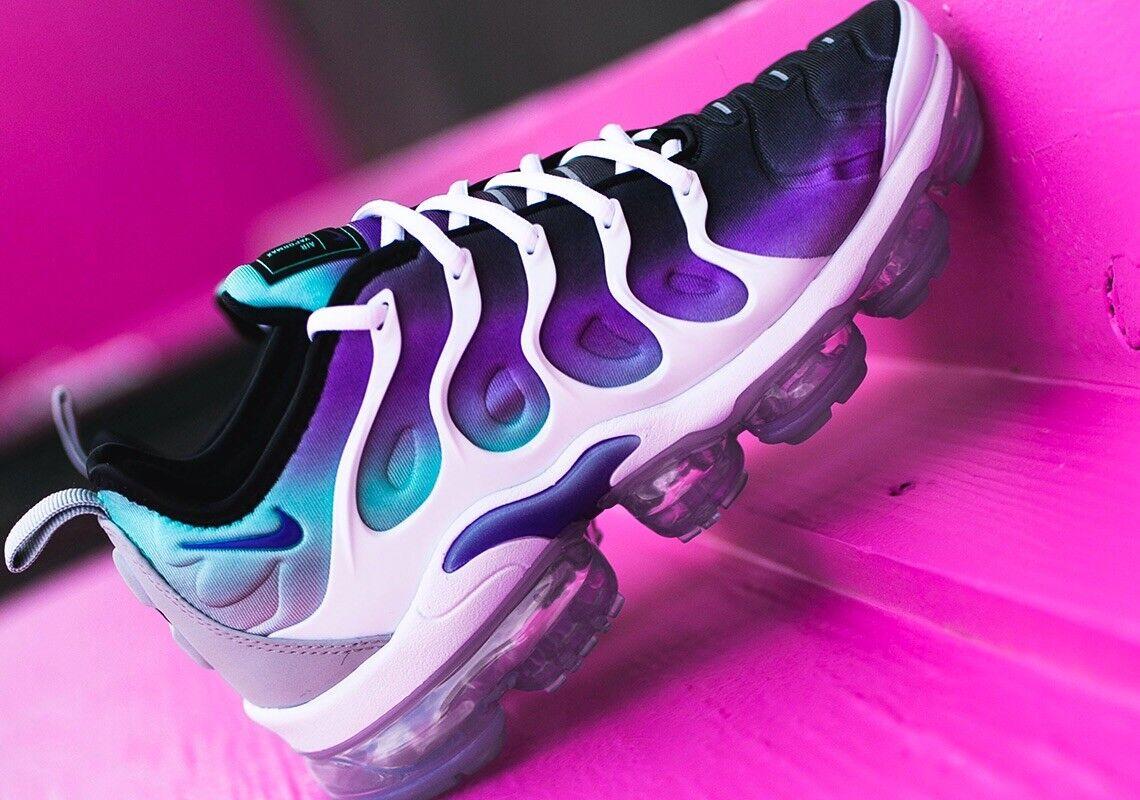 Nike Vapormax Plus Air Blu Aqua Viola Taglia 8 RARO