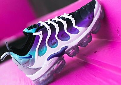 hot sale online 1a0bf 6fc5a Nike Air Vapormax Plus Aqua Blue Purple Size 8 RARE!!!!! | eBay