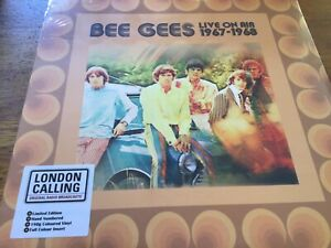 The-Bee-Gees-Live-on-air-1967-1968-LP-Ltd-Edition-Coloured-Vinyl-New-Sealed