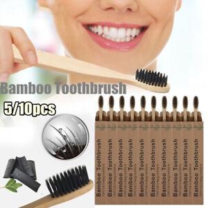 Type-ecologique-Brosse-a-dents-Cheveux-fibreux-doux-Brosse-a-dents-en-bambou