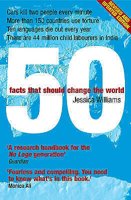 1 of 1 - 50 Facts That Should Change the World by Jessica Williams (Paperback, 2007)