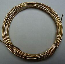 Messingdraht-Ring Stärke 1,00mm / 4m