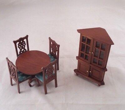 1:12 SCALA Pino ad angolo SCAFFALI tumdee in miniatura casa delle bambole mobili in legno